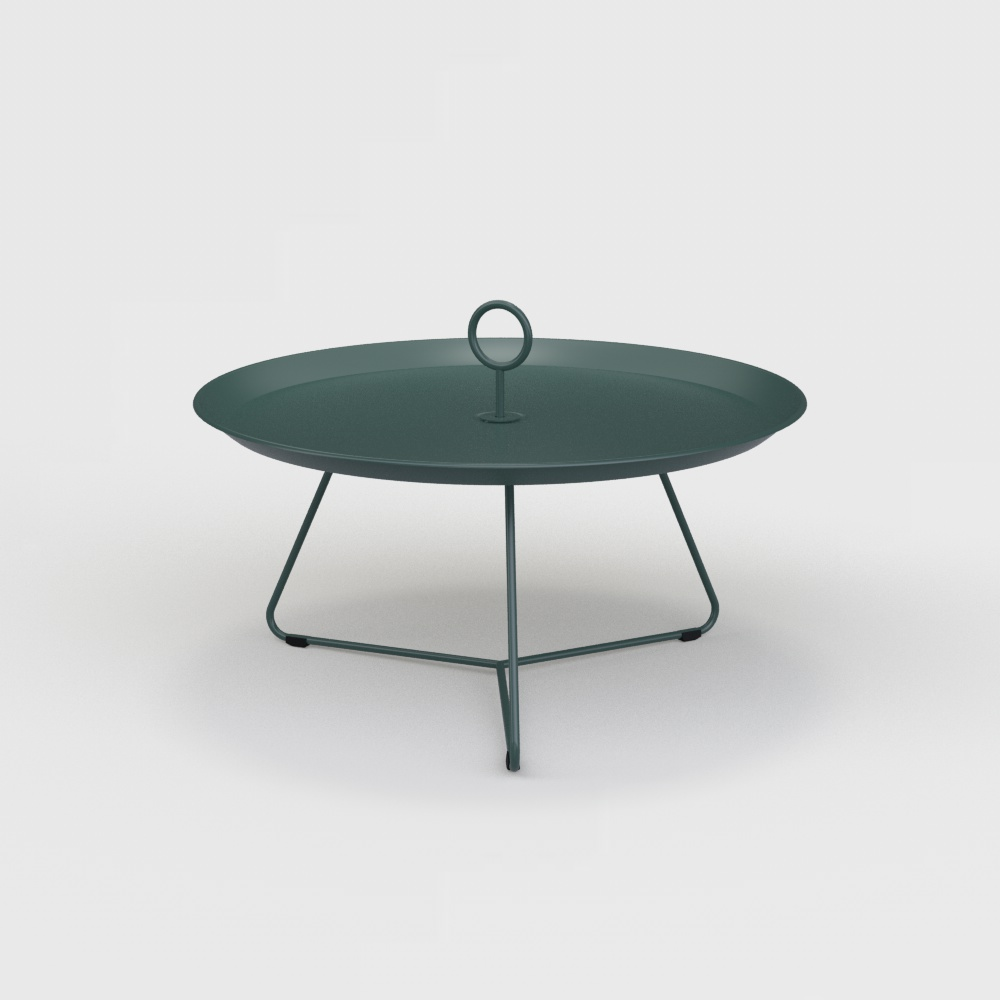 Tray Table Ø70 // Pine green
