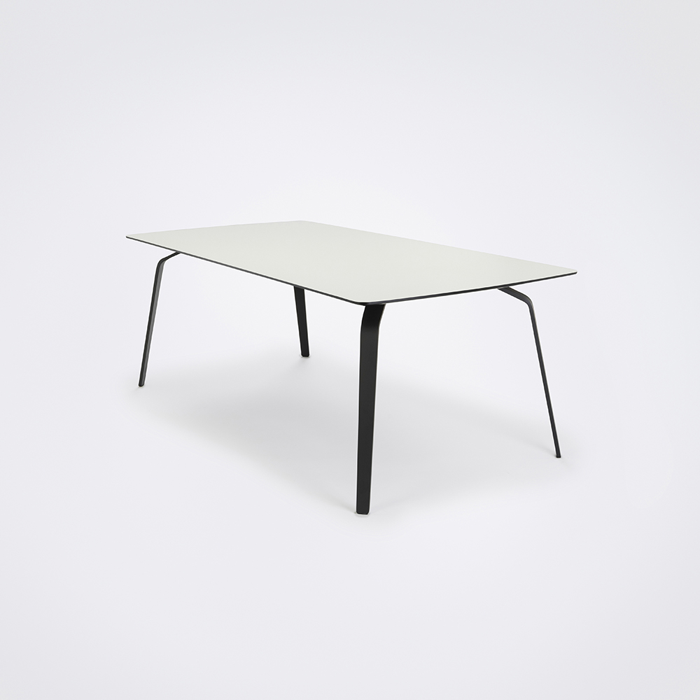 DINING TABLE 208cm // White Laminate